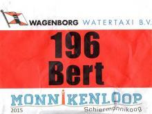 startnummer Bert Holsteijn Monnikenloop 2015